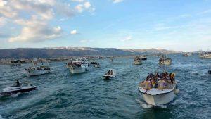 processione pescherecci manfredonia